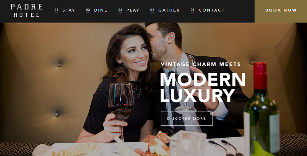 5 big hotel website design trends for 2018