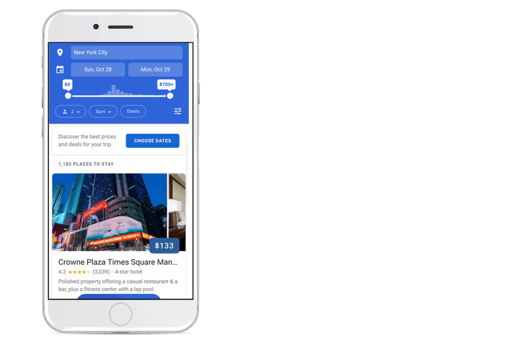 Revenue Hub Google Testing New Hotel Search Experience on