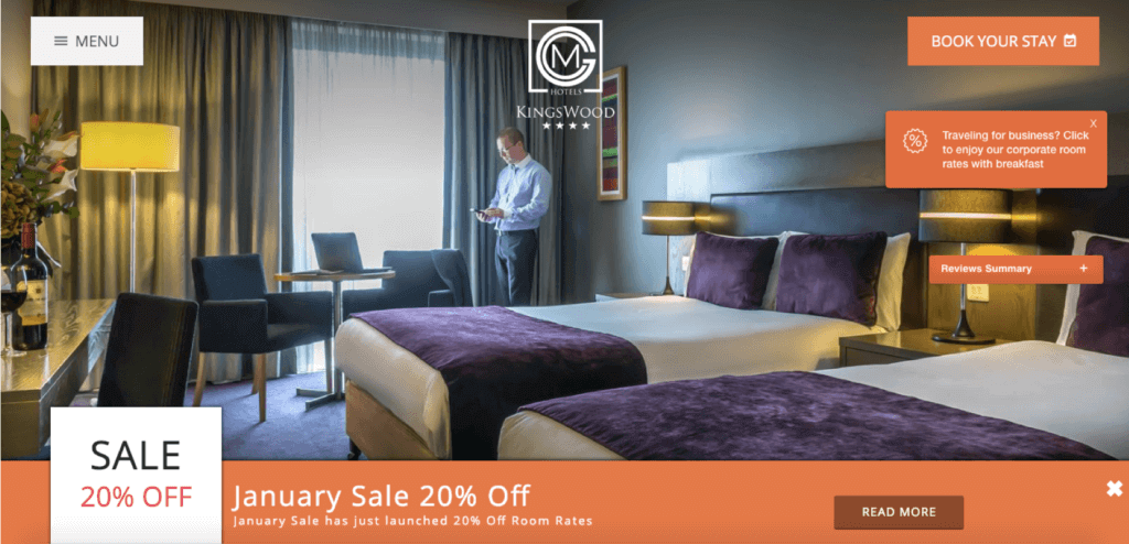 Revenue Hub 3 Hotels with High-Impact Website Conversion